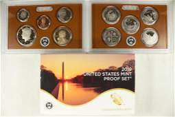 2019 US PROOF SET WITH BOX
