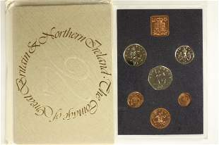 1976 GREAT BRITAIN AND NORTHERN IRELAND PROOF SET