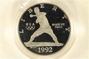 1992-S US OLYMPICS PROOF SILVER DOLLAR