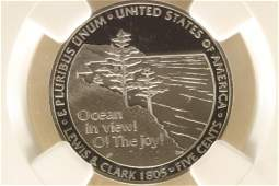 2005S OCEAN IN VIEW NICKEL NGC PF70 ULTRA CAMEO