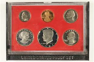 1981 US PROOF SET (WITHOUT BOX)