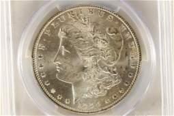 1888-O MORGAN SILVER DOLLAR PCGS MS65 WITH