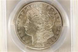 1881S MORGAN SILVER DOLLAR PCGS MS63