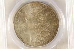 1884-O MORGAN SILVER DOLLAR PCGS MS65 WITH