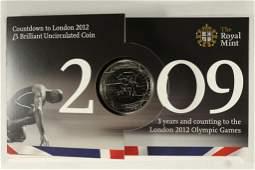 2009 GREAT BRITAIN COUNTDOWN TO LONDON 2012