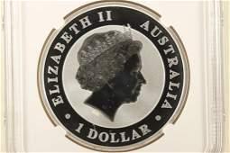 2018-P AUSTRALIA KOOKABURRA 1 OZ SILVER DOLLAR