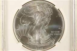 2016 AMERICAN SILVER EAGLE NGC MS70 1ST RELEASES