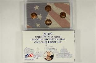 2009 US MINT LINCOLN BICENTENNIAL ONE CENT PF SET