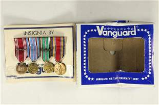 4-US MILITARY INSIGNIA RIBBONS & MEDALS