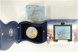 2004 AUSTRALIA GOLD ENHANCED SILVER FLORIN
