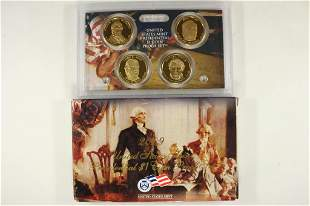 2009 US MINT PRESIDENTIAL $1 COIN PROOF SET & BOX