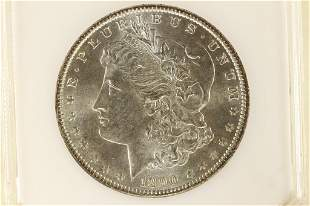 1890 MORGAN SILVER DOLLAR MS63