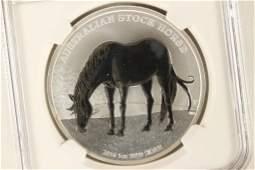 "2016-P AUSTRALIA ""AUSTRALIA STOCK HORSE"" SILVER"