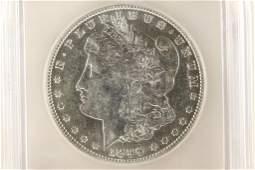 1896O MORGAN SILVER DOLLAR ICG AU50