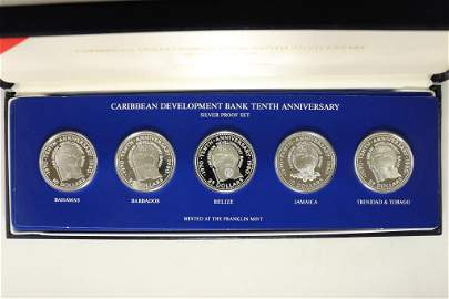 1980 CARIBBEAN DEVELOPMENT BANK 10TH ANNIVERSARY