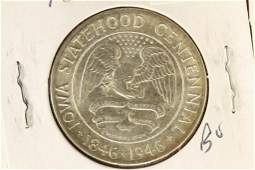 1946 IOWA COMMEMORATIVE HALF DOLLAR BRILLIANT UNC
