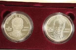 1998 ROBERT F. KENNEDY MEMORIAL PROOF & UNC