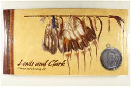 2004 LEWIS & CLARK COINAGE AND CURRENCY SET