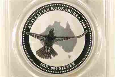 2009-P20 AUSTRALIA KOOKABURRA 1 OZ SILVER
