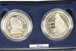 2000 LEIF ERICSON MILLENNIUM COMMEMORATIVE