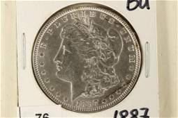 1887 MORGAN SILVER DOLLAR BRILLIANT UNC