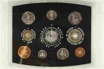2000 UNITED KINGDOM 10 COIN PROOF SET