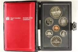 1984 CANADA DOUBLE DOLLAR PROOF SET TORONTO