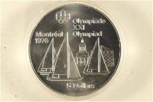 1973 CANADA MONTREAL SUMMER OLYMPICS SILVER