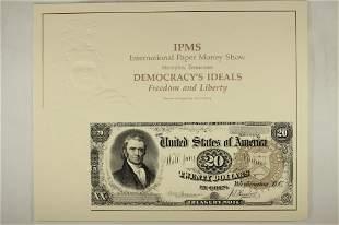 INTERNATIONAL PAPER MONEY SHOW MEMPHIS, TN