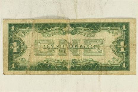 1928-A US $1 FUNNY BACK SILVER CERTIFICATE