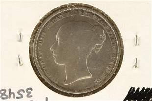 1840 GREAT BRITAIN SILVER SHILLING