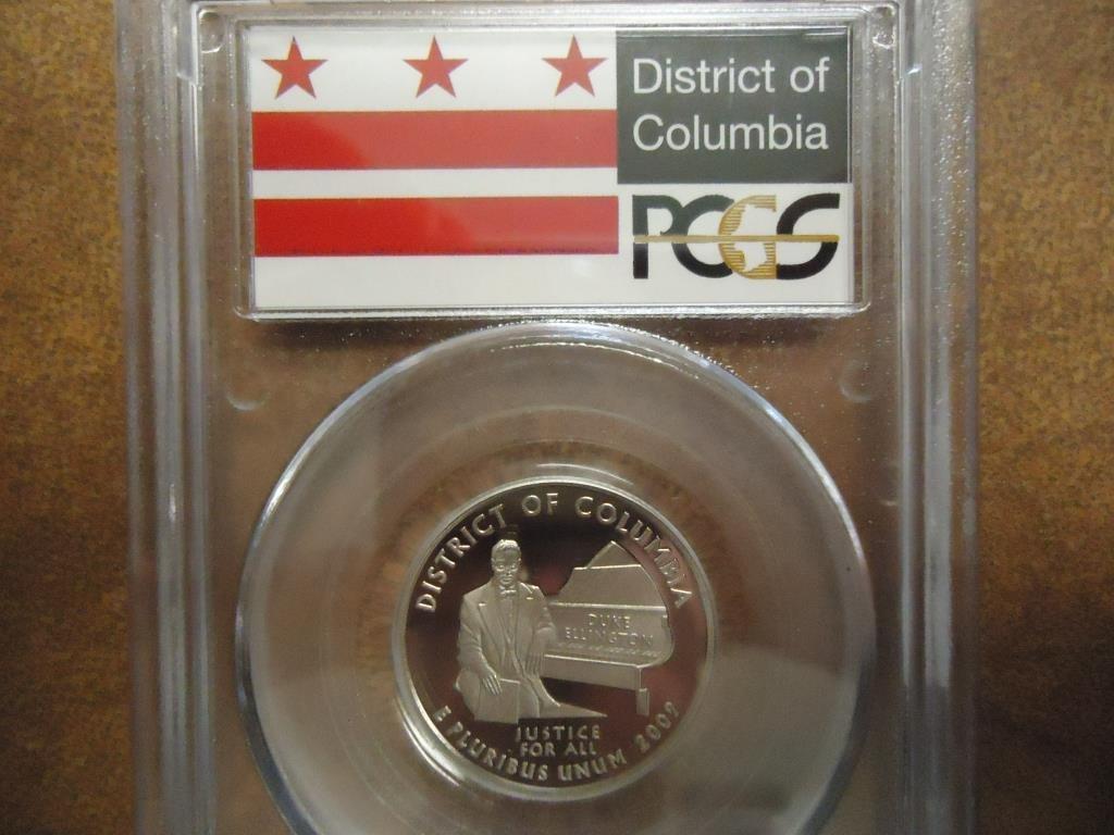 2009-S DISTRICT OF COLUMBIA QUARTER PCGS PR69 DCAM - 2