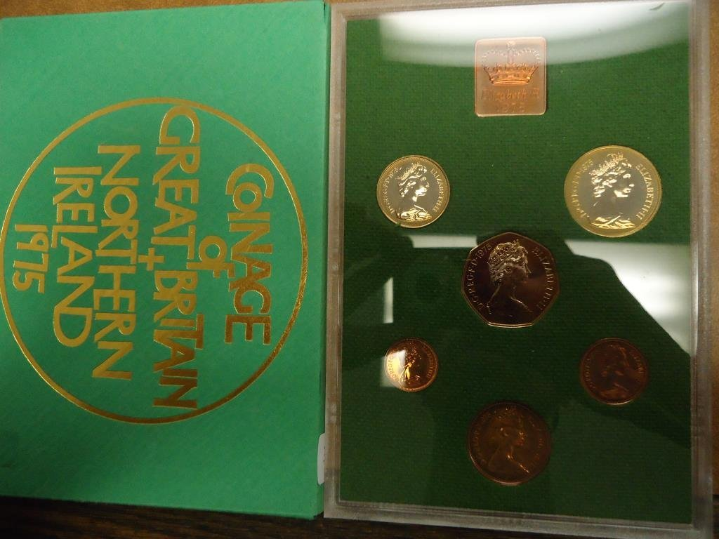 1975 GREAT BRITAIN AND NORTHERN IRELAND PROOF SET