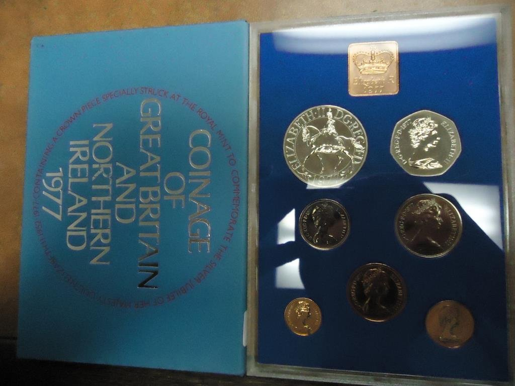 1977 GREAT BRITAIN AND NORTHERN IRELAND PROOF SET