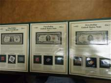 HISTORIC US CURRENCY SET SEE DESCRIPTION 1957 1 SILVER