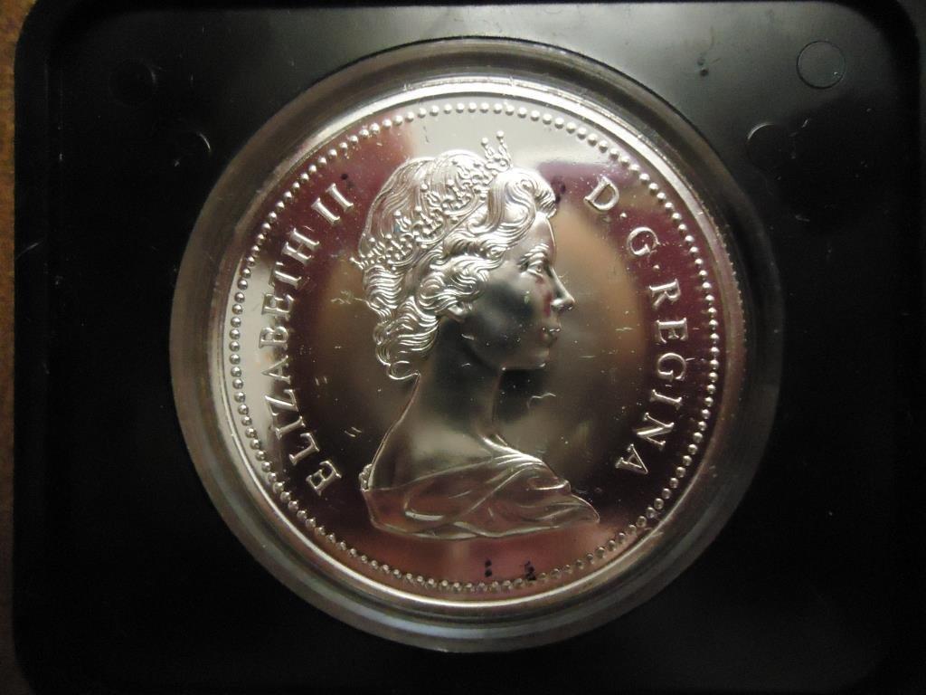 1974 CANADA WINNIPEG DOLLAR PROOF .3750 OZ. ASW
