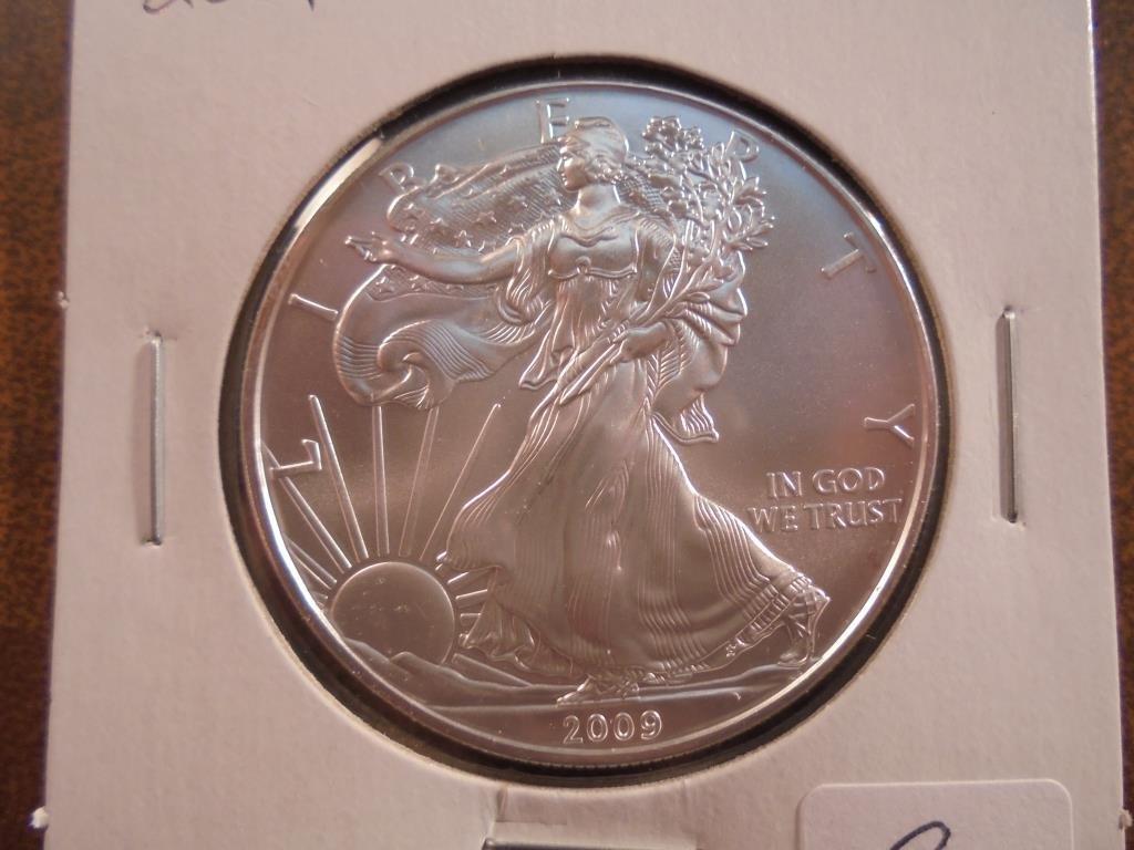 2009 AMERICAN SILVER EAGLE UNC
