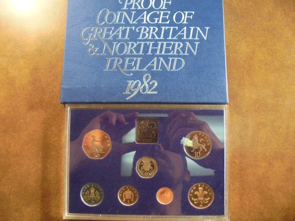 1982 GREAT BRITAIN AND NORTHERN IRELAND PROOF SET