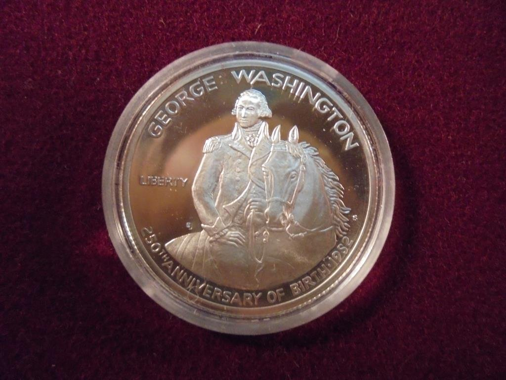 1982-S WASHINGTON COMMEMORATIVE HALF SILVER PF ORIGINAL