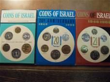 196768  69 ISRAEL JERUSALEM SPECIMEN SETS ORIGINAL