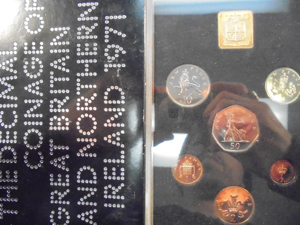 1971 GREAT BRITAIN AND NORTHERN IRELAND PROOF SET