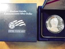 2009-P ABRAHAM LINCOLN PROOF SILVER DOLLAR ORIGINAL US