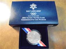 2002P OLYMPIC WINTER GAMES SALT LAKE UNC SILVER