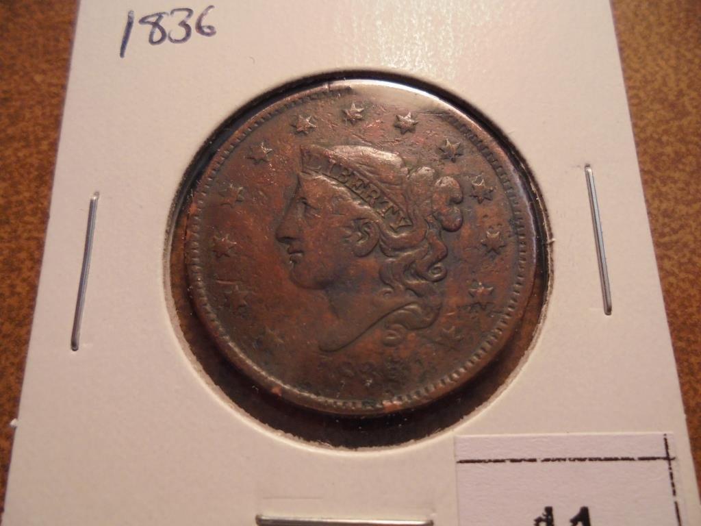 1836 US LARGE CENT