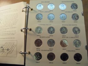 Partial 1999-2008 Us 50 State Quarters Proof Set With