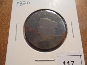 1820 Us Large Cent
