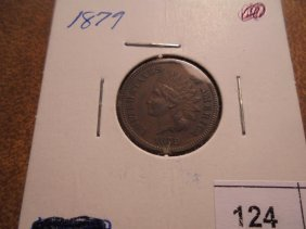 1879 Indian Head Cent Extra Fine