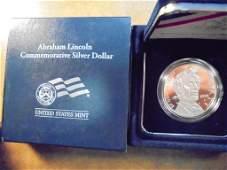 2009P ABRAHAM LINCOLN PROOF SILVER DOLLAR ORIGINAL US