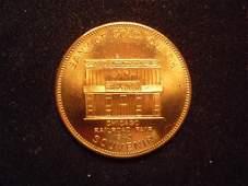 1949 CHICAGO RAILROAD FAIR BANK OF GOLD GULCH SOUVENIR