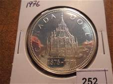 1976 CANADA SILVER DOLLAR PARLIAMENT LIBRARY PROOF